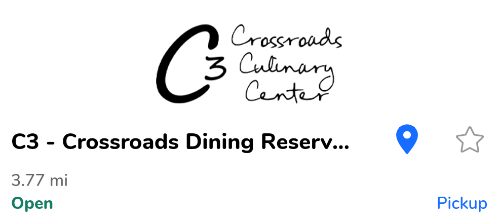 C3 - Crossroads Dining Reservation