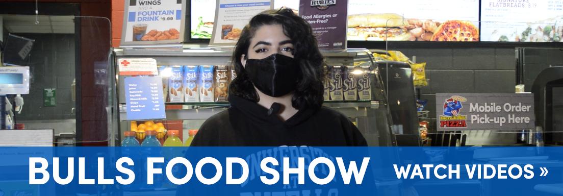 Bulls Food Show. Watch Videos