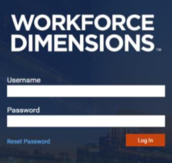 Workforce Dimension Login